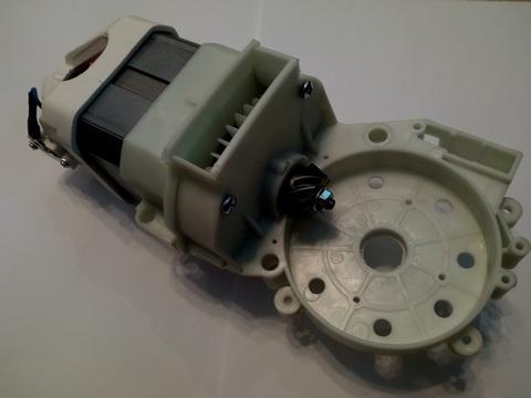 Двигатель эл. переменного тока DDE CSE2418 в сборе (8440-430205-0000020)