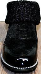 Туфли оксфорды женские Kluchini 5161 k255 Black
