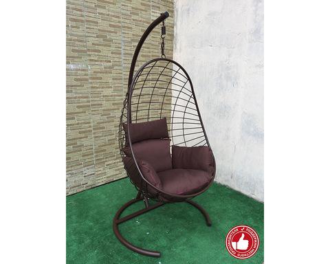 Подвесное кресло Изи Лофт коричневое