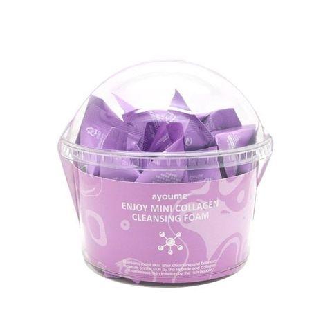 Пенка для умывания с коллагеном AYOUME Enjoy Mini Collagen Cleansing Foam 1 шт-3 гр