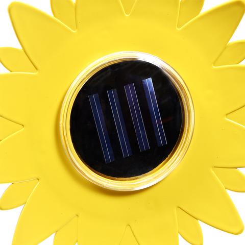 Отпугиватель кротов ультразвуковой с фонариком на солнечной батарее