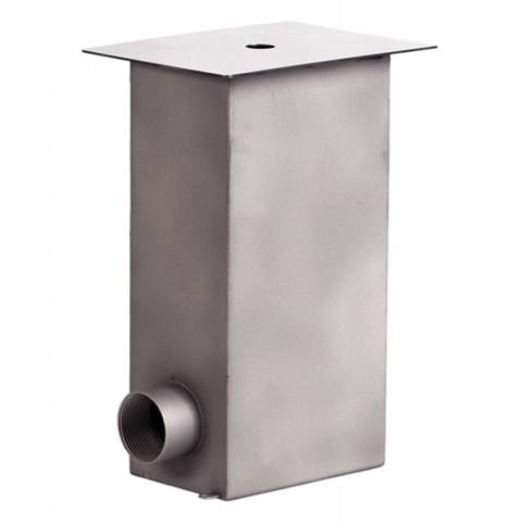 Регулятор уровня воды нержавеющая сталь AISI-304 150х100х290 G 1 1/2