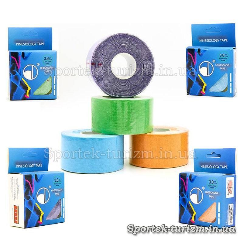 Спортивний пластир Кінеcіотейп (Kinesiology tape) BC-4863-3,8 (3,8см х 5м)