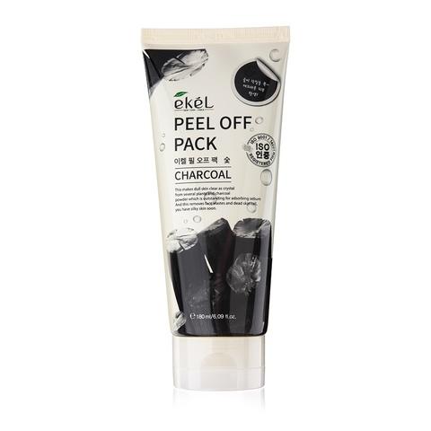 Маска-пленка с экстрактом древесного угля EKEL Peel off pack Charcoal