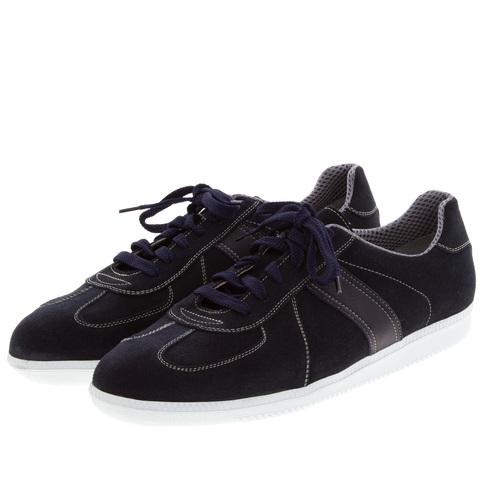 556396 синие полуботинки мужские. КупиРазмер — обувь больших размеров марки Делфино