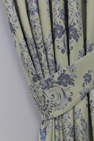 Комплект штор  Лелиса голубой