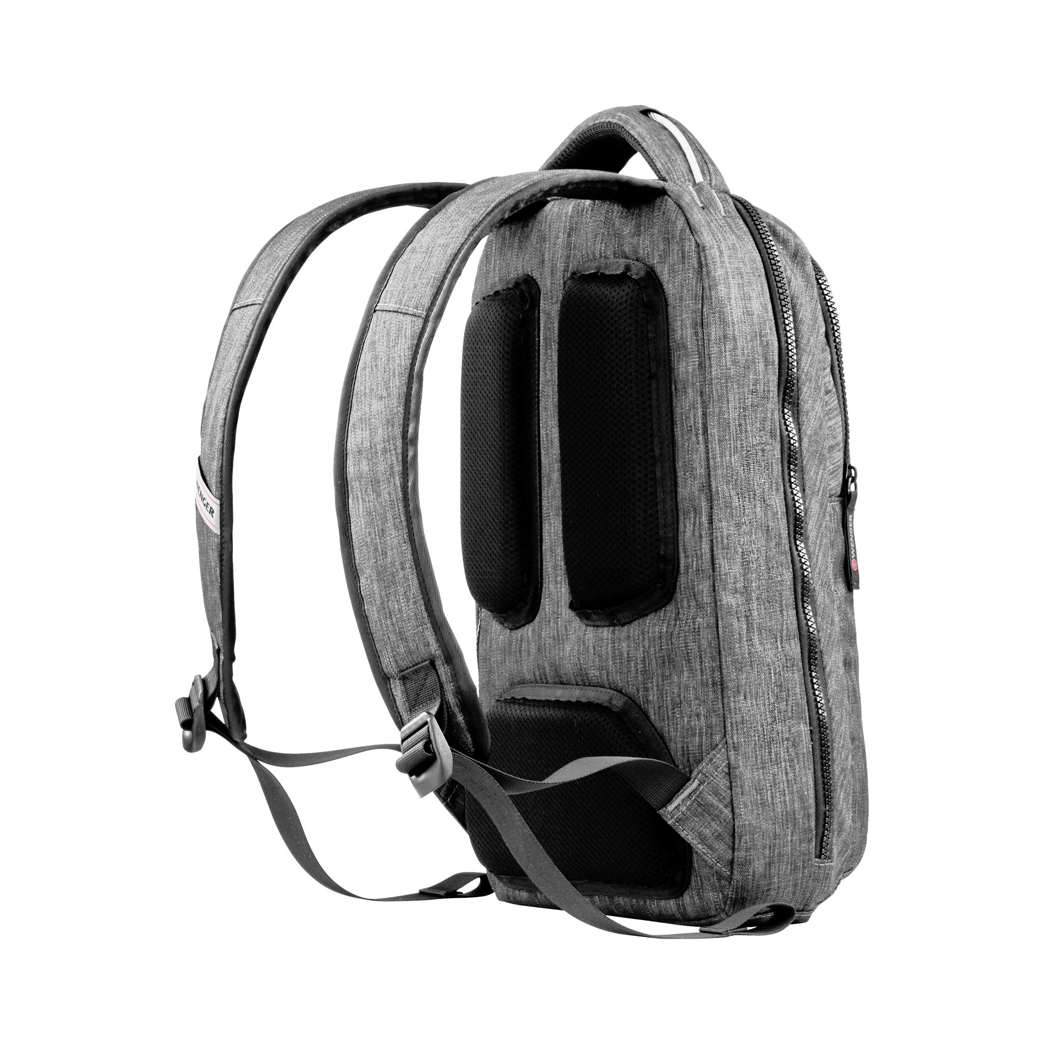Рюкзак WENGER Rotor, цвет сёрый, отделение для ноутбука 14