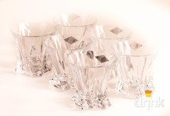 Набор стаканов для виски Aurum Crystal, 310 мл, фото 4