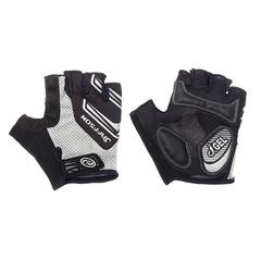 Велоперчатки JAFFSON SCG 46-0331 (чёрный/серый)