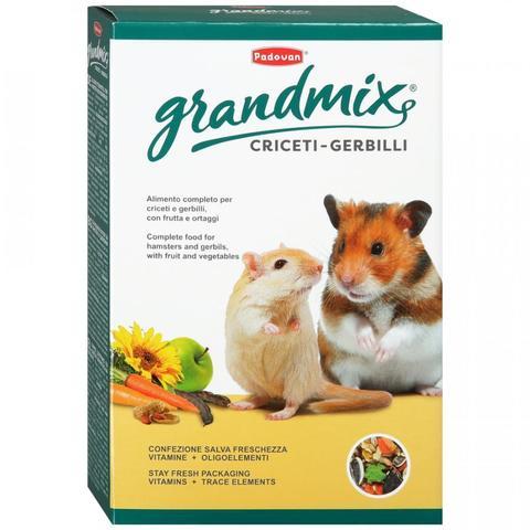 Padovan Корм GRANDMIX Criceti комплексный/основной  д/хомяков и мышей (400г)