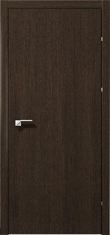 Дверь 5000 (чёрный дуб, глухая CPL), фабрика Краснодеревщик