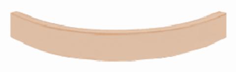 карниз нижний торцевой полукруглый МВ-34