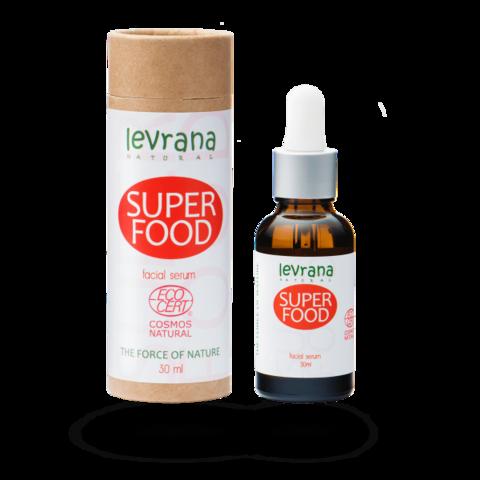 Сыворотка для лица SUPER FOOD, супер питание, 30мл ECOCERT Levrana