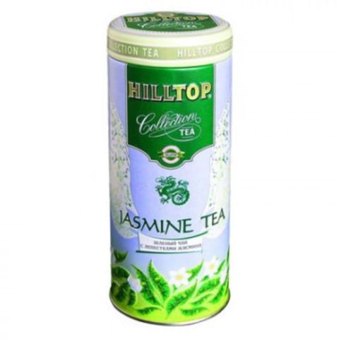 Чай подарочный Hilltop листовой зеленый с жасмином 100 г
