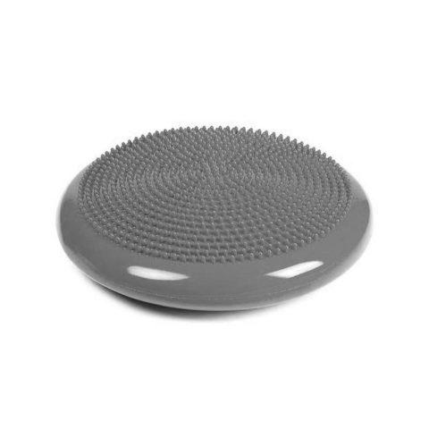 D33 Диск балансировочный ПВХ, надувной, массажный, серебряный d=33 см