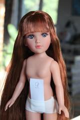 Барбара рапунцель, глаза серые. 35 см. Vidal Rojas (Видал Рохас)