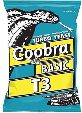 Спиртовые дрожжи Coobra Turbo Basic T3