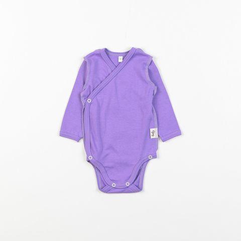Kimono long-sleeved bodysuit 0+, Lavender