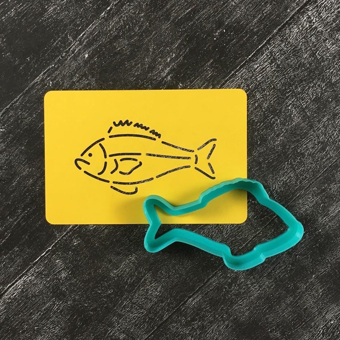 Рыбка №1