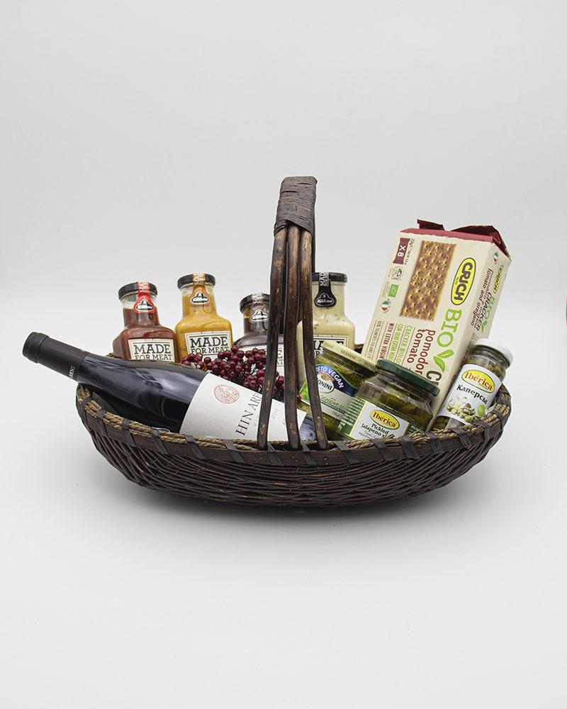 Подарочная корзина для мужчин К трапезе
