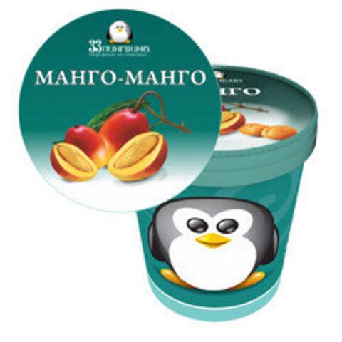 Мороженое Манго-Манго 490мл ведро 33 пингвина