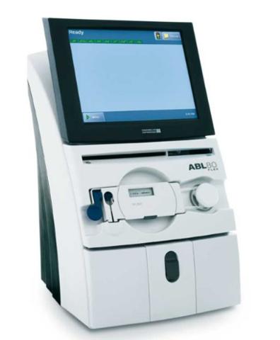 Автоматический анализатор газов крови и электролитов ABL80 FLEX версия  Basic, версия CO-OX, версия CO-OX OSM /Radiometer Medical ApS/
