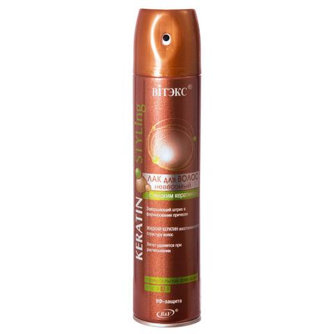 Витекс Keratin STYLing Лак для волос невесомый сверхсильной фиксации 300мл