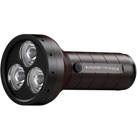 Фонарь светодиодный LED Lenser P18R Signature, 4500 лм, аккумулятор