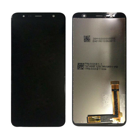 LCD SAMSUNG J6 Plus J610F + Touch Black Orig MOQ:5