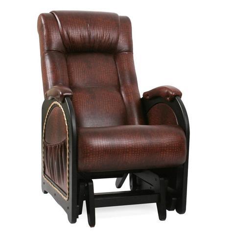Кресло-глайдер Модель 48, венге, к/з Antik crocodile