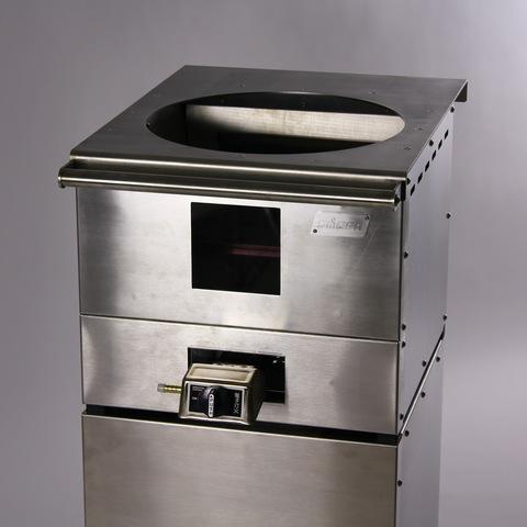 Печь для казана 10-12 л с горелкой на 9 Квт