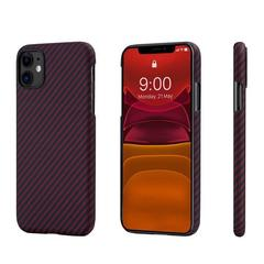 Чехол Pitaka MagEZ Case для Apple iPhone 11 (Black/Red Twill)
