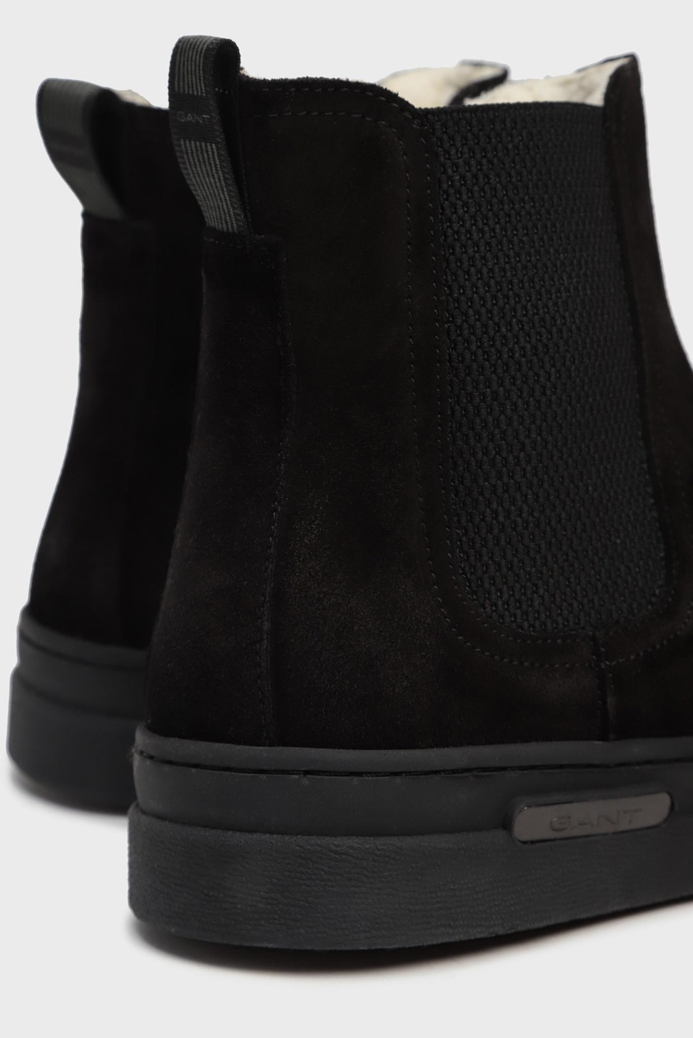 Мужские черные замшевые челси CREEK Gant