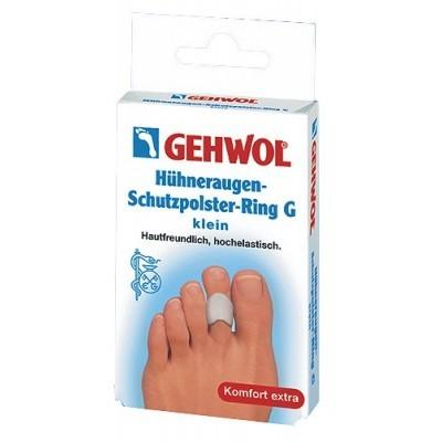 Gehwol (Геволь) - Супинаторы Гель-полимер: Защитное гель-кольцо с уплотнением (Huhneraugen Schutzpolster Ring G), 3шт, малый