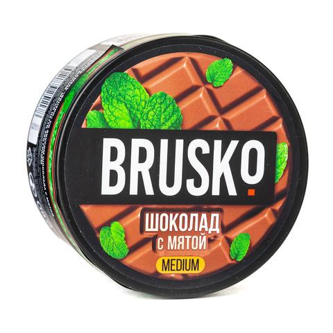 Кальянная смесь BRUSKO 250 г Шоколад с Мятой