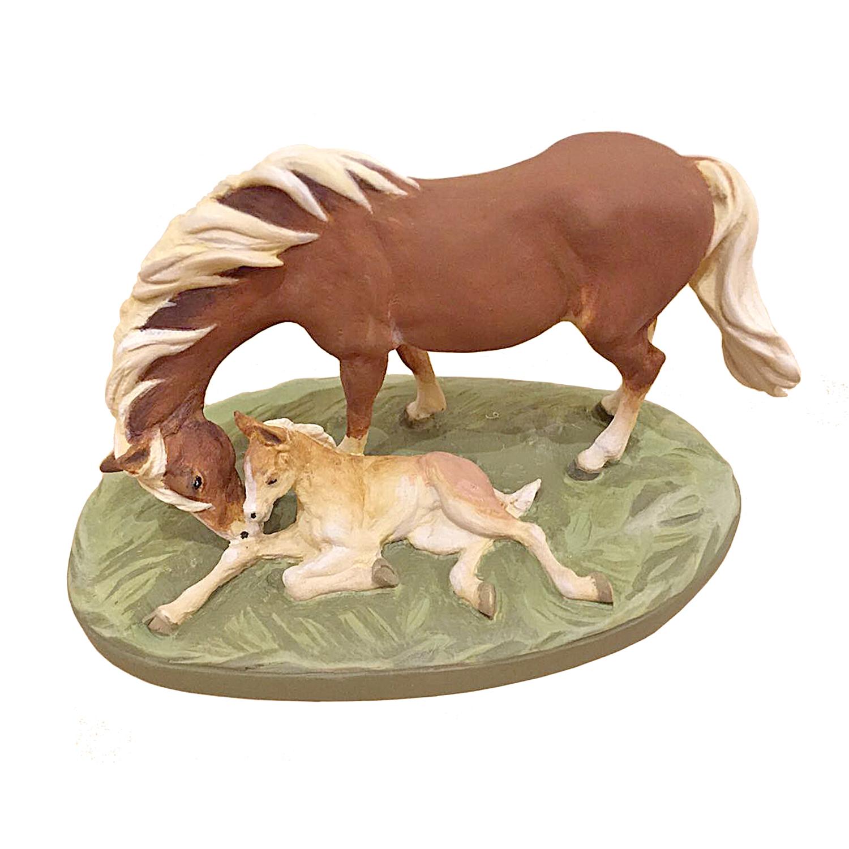 Лошади-семья