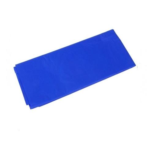 Бумага тишью 10 шт., 50x66 см, цвет: синий