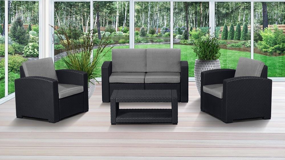 Комплекты для отдыха Комплект мебели IDEA LUX SET (Brown) _lux4t2.jpg
