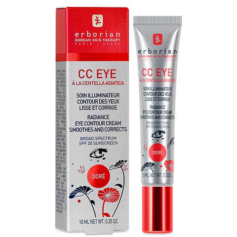 Erborian СС Доре корректирующий крем для кожи вокруг глаз CC Eye Dore Radiance Eye Contour Cream