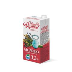 Молоко Северная Долина ультрапастеризованное 3,2% 950 гр