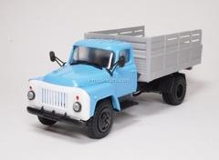 GAZ-53 board high blue-gray Kompanion 1:43