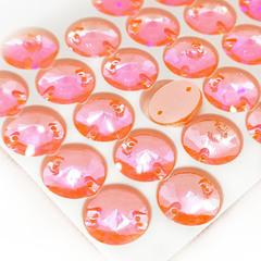 Купить оптом пришивные стразы Neon Orange AB, Rivoli в интернет-магазине