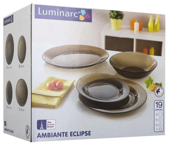 Столовый сервиз Luminarc Ambiante Eclipse 19 пр.