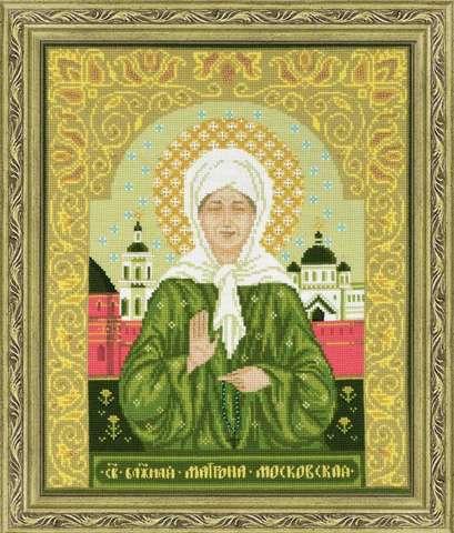 Набор для вышивания крестом «Святая блаженная Матрона Московская» (1385)