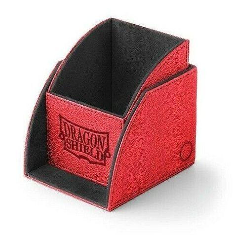 Dragon Shield - Красно-черная коробочка Nest (100 карт)