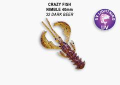 Силикон CRAZY FISH NIMBLE 1,6