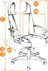 Кресло Бергамо (BERGAMO) — бежевый (36-34)