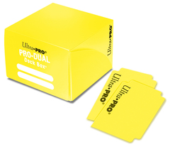 Dual Standard Deck Box Yellow (UP)