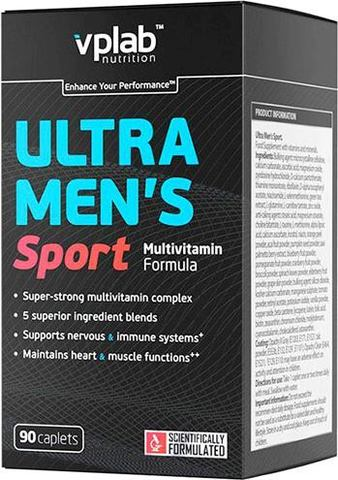 Витамины для мужчин Vplab Ultra Men's Sport Multivitamin Formula
