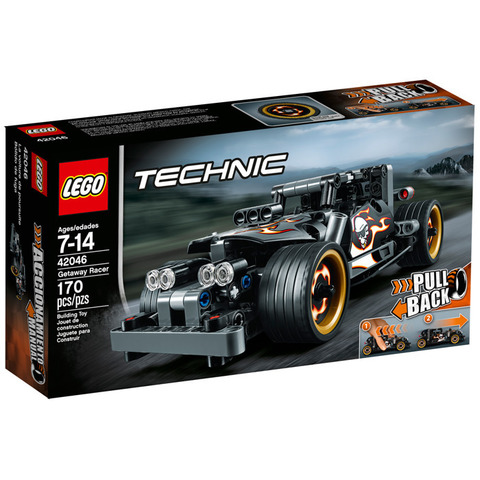 LEGO Technic: Гоночный автомобиль для побега 42046 — Getaway Racer — Лего Техник